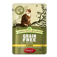 James Wellbeloved Adult Maaltijdzakjes Kattenvoer 12 x 85 g