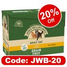 James Wellbeloved Adult Pouches - Lamb