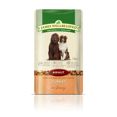 James Wellbeloved Adult Pouches - Turkey & Rice