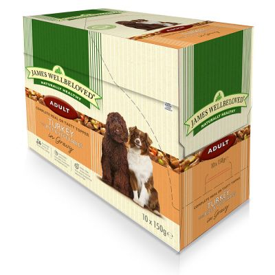 James Wellbeloved Adult Pouches - Turkey with Rice
