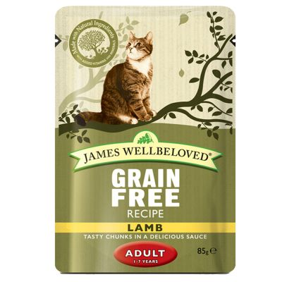 James Wellbeloved Adult Pouches 12 x 85 g