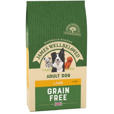James Wellbeloved Adult senza cereali Agnello & Verdure