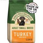 James Wellbeloved Adult Small Breed - Turkey & Rice