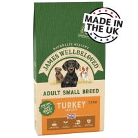 James Wellbeloved Adult Small Breed - Turkey & Rice