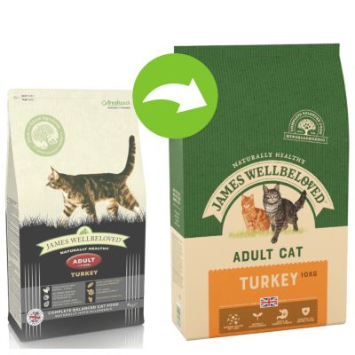James Wellbeloved Adult Turkey & Rice