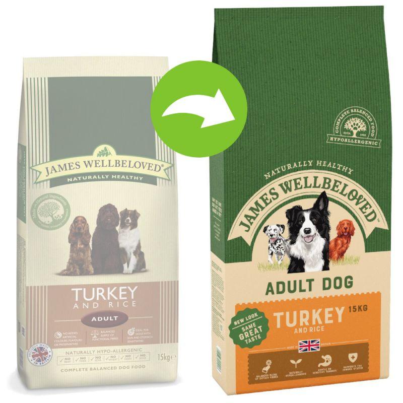 James Wellbeloved Adult - Turkey & Rice