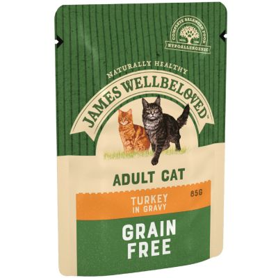 James Wellbeloved Cat Adult Pouches - Turkey
