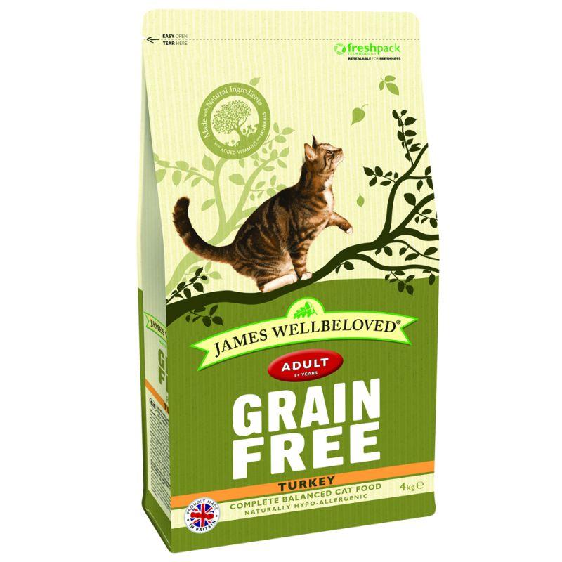 James Wellbeloved Cat Grain Free Turkey