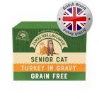 James Wellbeloved Cat Senior Pouches - Turkey