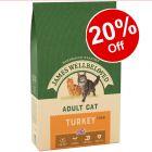 James Wellbeloved Dry Cat Food - 20% Off!*