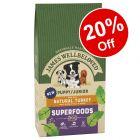 James Wellbeloved Dry Puppy Food - 20% Off!*