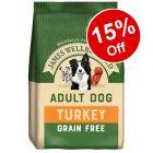 James Wellbeloved Grain-Free Dry Dog Food - 15% Off!*