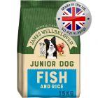 James Wellbeloved Junior - Fish & Rice