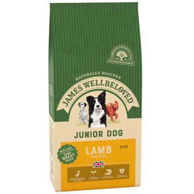 James Wellbeloved Junior - Lamb & Rice