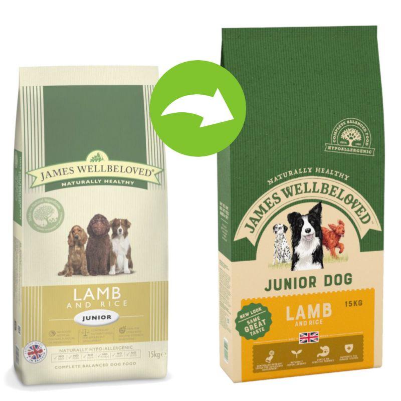James Wellbeloved Junior - Lamb & Rice