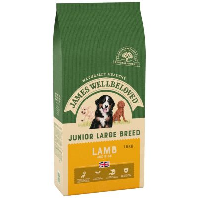 James Wellbeloved Junior Large Breed - Lamb & Rice