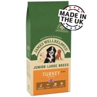 James Wellbeloved Junior Large Breed - Turkey & Rice