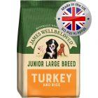 James Wellbeloved Junior Large Breed - Turkey & Rice