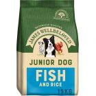 James Wellbeloved Junior poisson, riz pour chiot