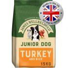 James Wellbeloved Junior - Turkey & Rice