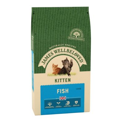 James Wellbeloved Kitten - Fish