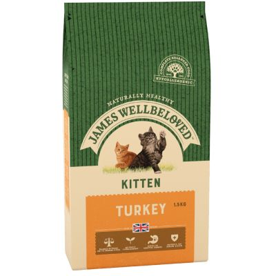 James Wellbeloved Kitten Turkey & Rice