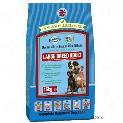 James Wellbeloved Large Breed - Vis & Rijst Hondenvoer
