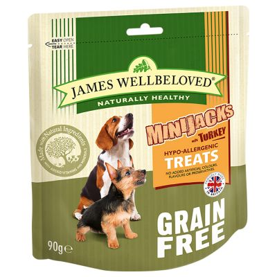 James Wellbeloved MiniJacks Dog Treats