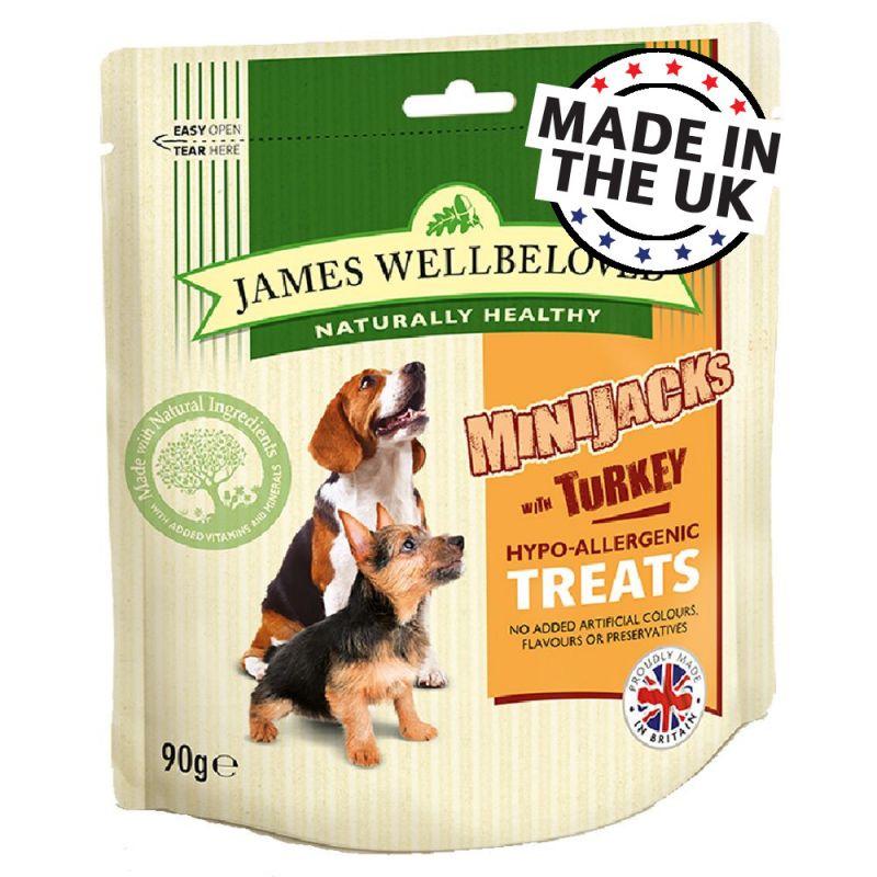 James Wellbeloved MiniJacks Dog Treats