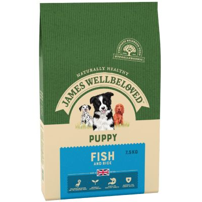 James Wellbeloved Puppy - Fish & Rice