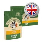 James Wellbeloved Puppy & Junior Grain Free Pouches - Lamb with Vegetables