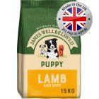 James Wellbeloved Puppy – Lamb & Rice