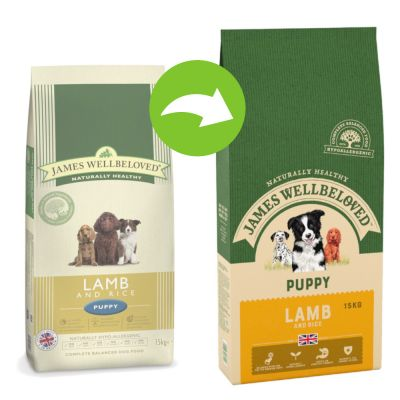 James Wellbeloved Puppy - Lamb & Rice