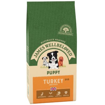 James Wellbeloved Puppy - Turkey & Rice