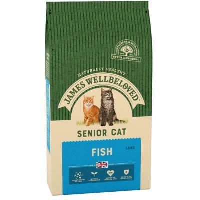 James Wellbeloved Senior 7+ Cat - Fish