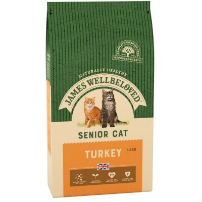 James Wellbeloved Senior 7+ Cat - Turkey