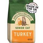 James Wellbeloved Senior 7+ Cat - Turkey