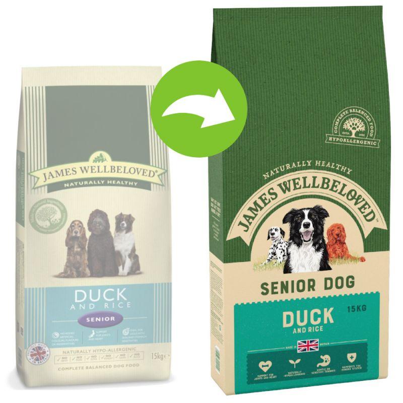 James Wellbeloved Senior - Duck & Rice