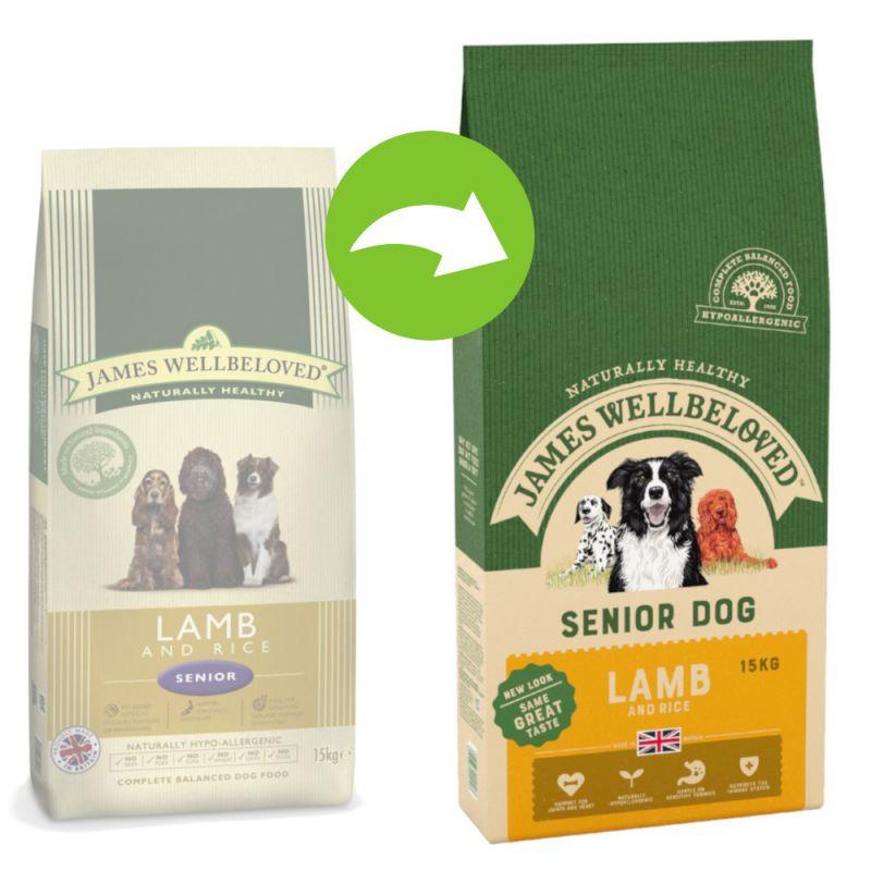 James Wellbeloved Senior - Lamb & Rice
