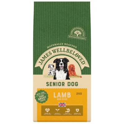 James Wellbeloved Senior - Lamb & Rice