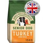James Wellbeloved Senior - Turkey & Rice