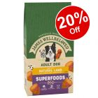 James Wellbeloved Superfoods Dry Dog Food - 20% Off!*