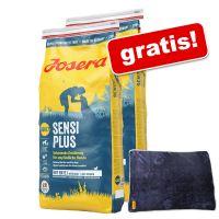 Josera Adult, 2 x 15 kg  + Josera, kocyk dla psa gratis!
