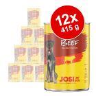 JosiDog Hrană umedă în sos 12 x 415 g