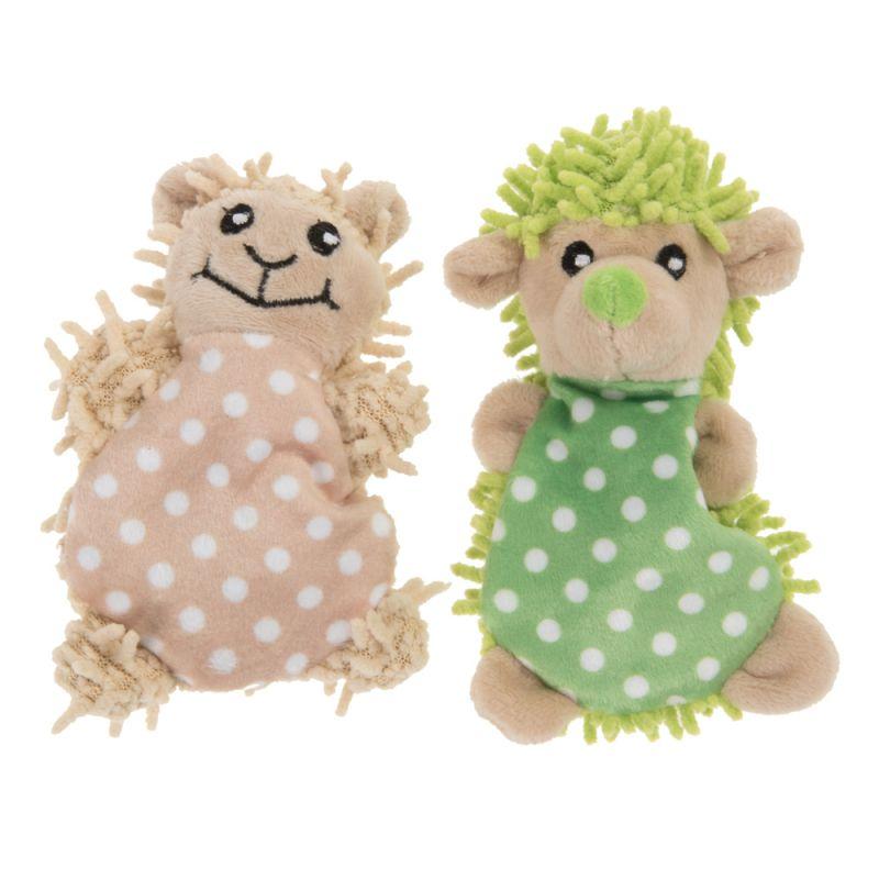Jouets Hérisson et Mouton Moppi avec menthe à chat