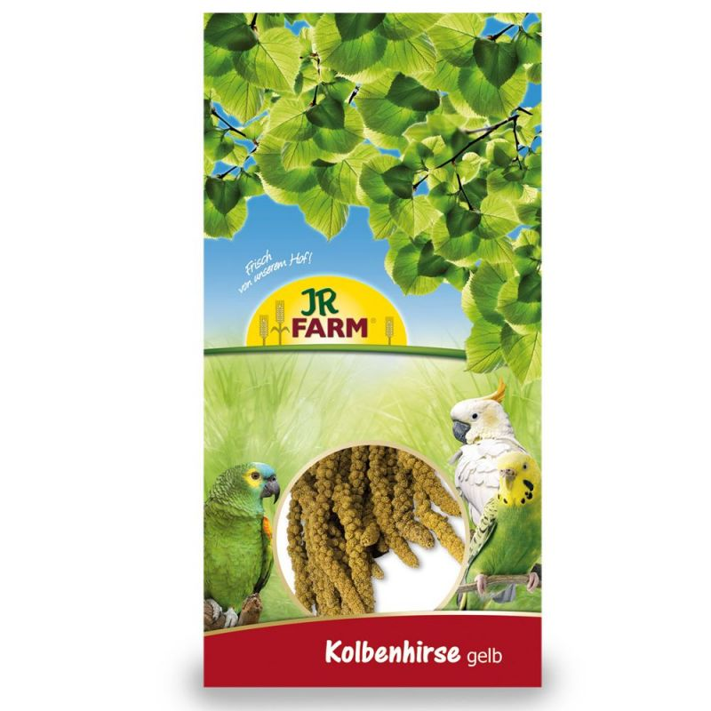 JR Birds Foxtail Millet, Yellow