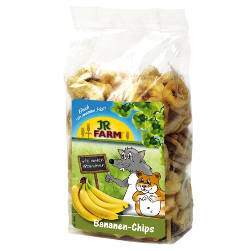 JR Farm Chips de banane pour lapin et rongeur