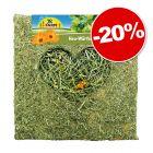 JR Farm Cube de foin avec fleurs pour rongeur et lapin : 20 % de remise !