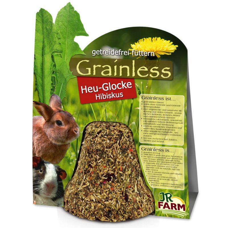 JR Farm Grainless Hibiscus hø-klokke