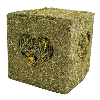 JR Farm Hay Cube with Flowers
